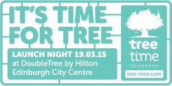 Tree Time Edinburgh launch night